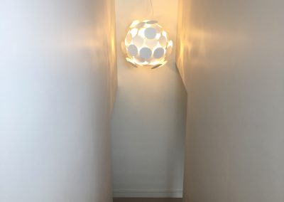 Feature Lighting in Staircase